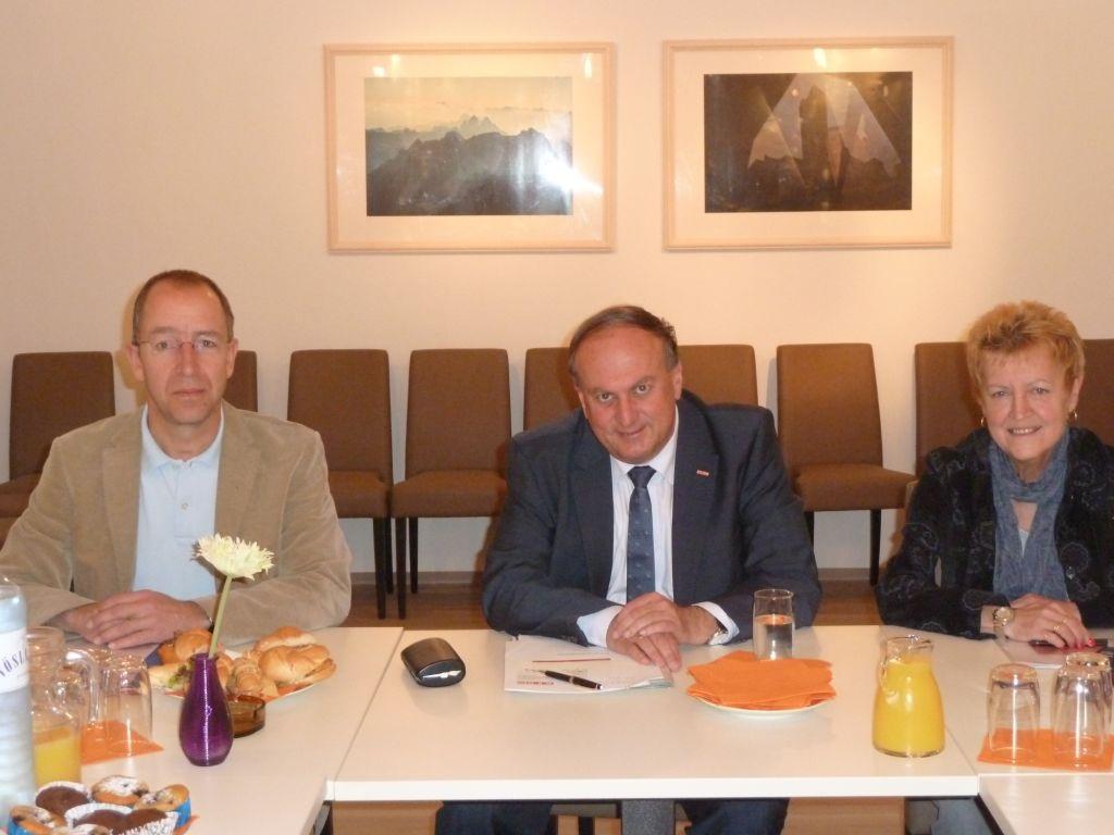 Ing. Krenmayr, Obmann Dr. Rudolf Trauner, Brigitte Launinger