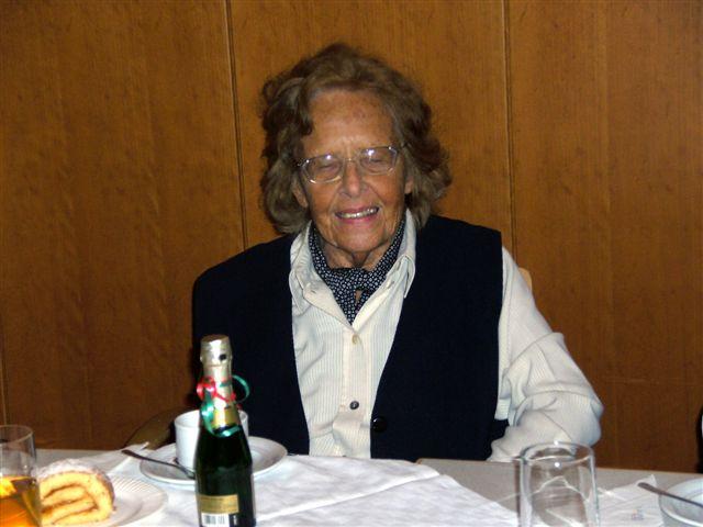 Geburtstagskind Edith Weissker