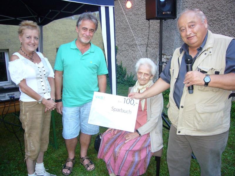 Dr. Wolfgang Froschauer gewann den Hauptpreis