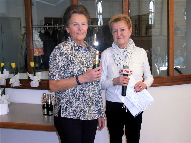 Olga Huber mit Brigitte Launinger