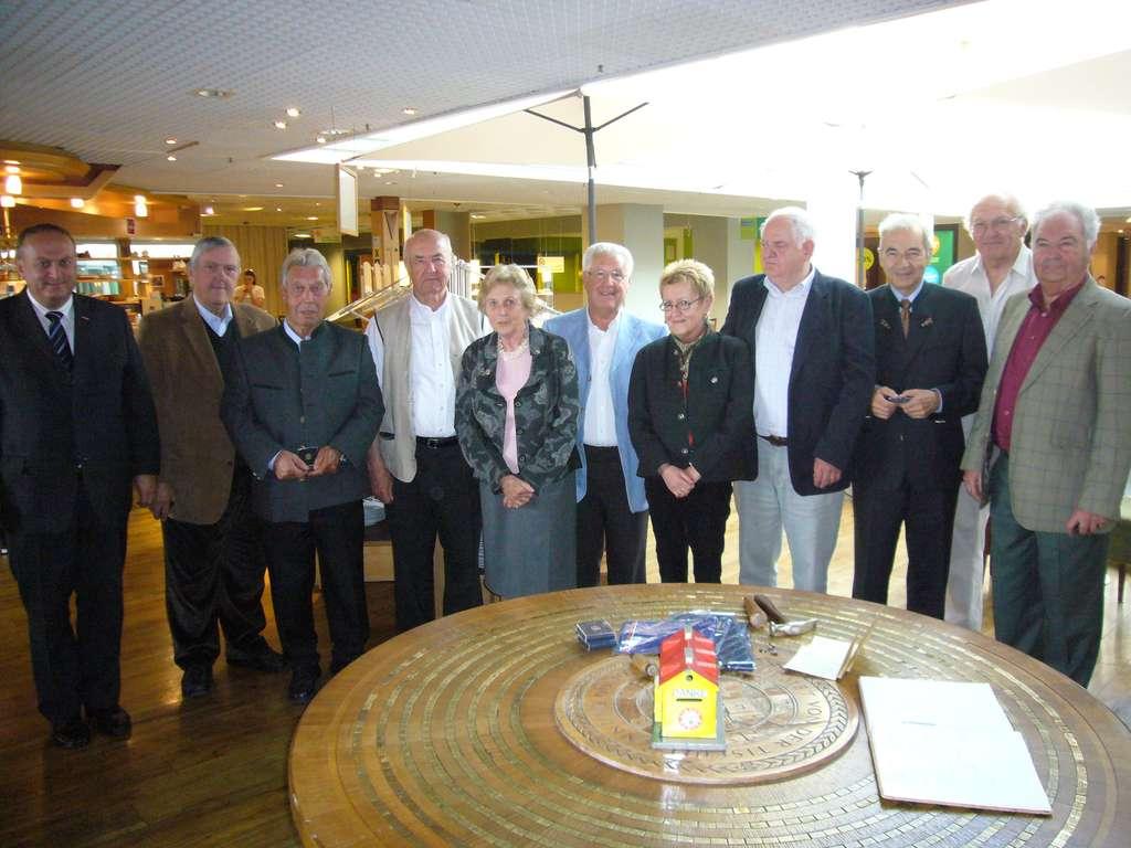Ehrung für 35 Jahre Linzer Bürger