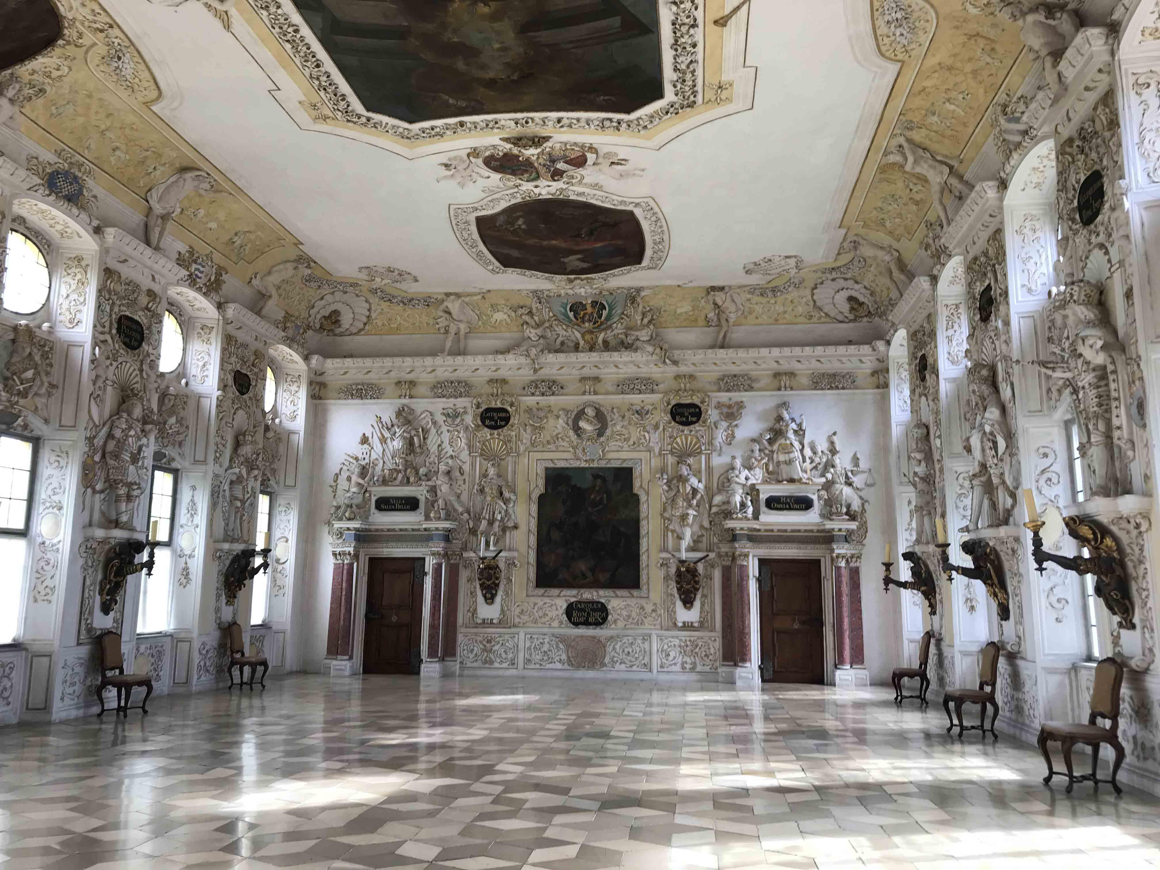 Kaisersaal Schloß & Kloster Salem - Ines Rosenhain
